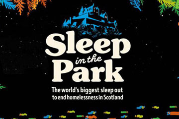 Sponsored 'Sleep in the Park' Event!
